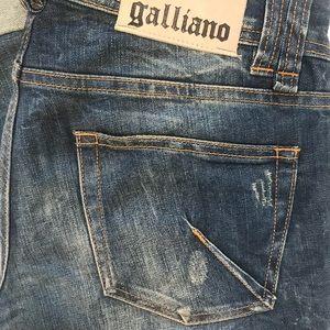 GALLIANO Jeans Sz 29